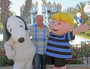 Snoopy, Bruce and Charlie Brown